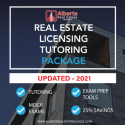 A training package offering Tutoring services for Real Estate Licensing in Alberta.
