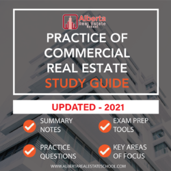 A study offering Practice of Commercial Real Estate Licensing in Alberta.